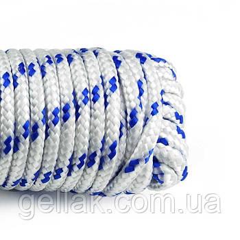 Канат полипропиленовый крученый 10 мм х 50 м (мотузка поліпропіленова оптом)