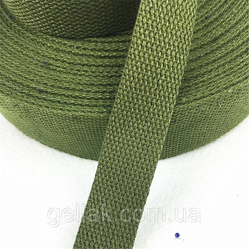 Лента ременная ХБ 45 мм техническая брезентовая (стропа хлопчатобумажная вожжевая)