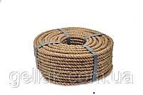 Веревка джутовая JuteRD 5 мм х 100 м  бечевка  канат пеньковый  мотузка джутова  Украина, фото 2