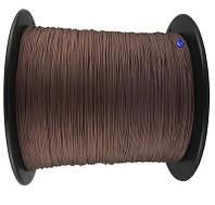 Шнур управления жалюзи коричневый 1.2 мм х 1000 метров (моток) Украина