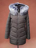 Довга зимова куртка VS Z-148, хакі, фото 1