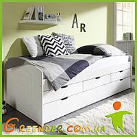 Кровать из бука с гарантией от производителя (эко товар) + дополнительное спальное место!