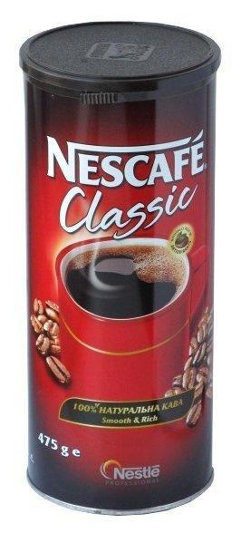 Кофе Nescafe Classic \ Нескафе Классик (475 г) растворимый в ж\б