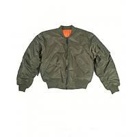 Куртка летная MA1 США  (Olive), фото 1
