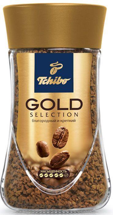 Кофе Tchibo Gold Selection (200 г) растворимый с\б