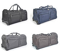 Дорожная сумка на колесах Lys 56 см - 60 л. С выдвижной телескопической ручкой (разные цвета)