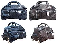 Дорожная сумка на колесах Cannes c выдвижной ручкой (ручная кладь)