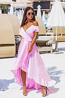 Платье-халат летнее шелковое (Арт 164) Разные цвета, фото 1