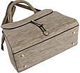 Жіноча сумка TRAUM 7230-63 зі штучної шкіри бежевий, фото 3
