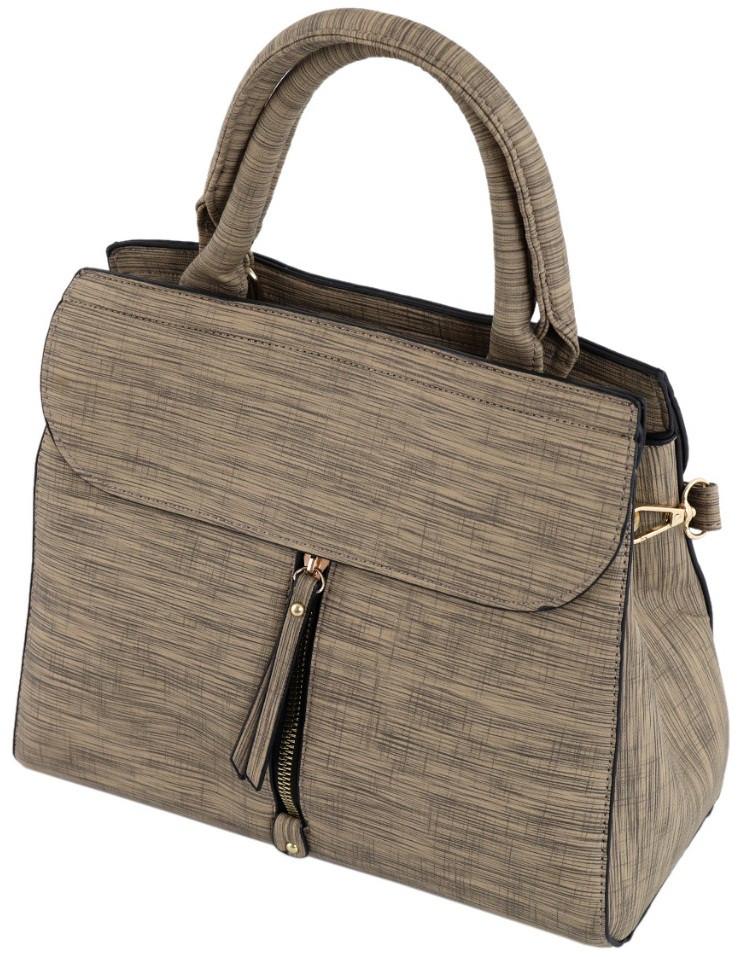 Жіноча сумка TRAUM 7230-63 зі штучної шкіри бежевий