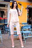 Стильный Летний костюм с бриджами 42-60р, фото 6