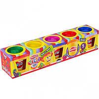 Тесто для лепки Master-Do DankO toys 5 цветов (8107DTR)