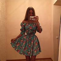 Летнее платье-сарафан