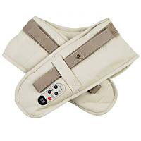 Ударный вибромассажер для спины плеч и шеи Cervical Massage Shawls Бежевый (200515)