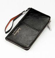 Мужское портмоне Baellery Leather Черный (p650292789)