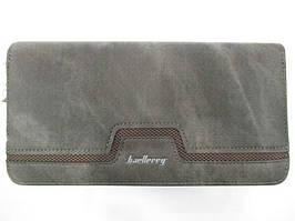 Мужской портмоне-клатч с ручкой Baellerry Серый (p650293698)