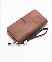 Мужской портмоне-клатч с ручкой Baellerry Коричневый (p650294995)