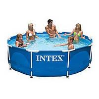 Каркасный сборно-разборный бассейн Intex 28200 (305-76 см.) Metal Frame Pool