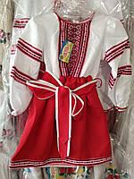 Нарядное платье на девочку 110р-140р
