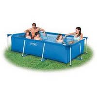 Каркасный бассейн Rectangular Frame Pool Intex 28271 (260x160x65 см)