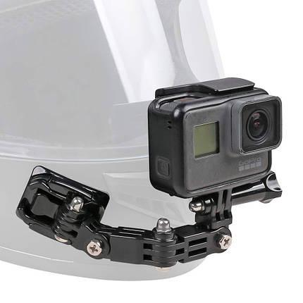 Боковое крепление на шлем Side Mount для экшн камеры GoPro SJCAM Xiaomi Yi, Sony, фото 2