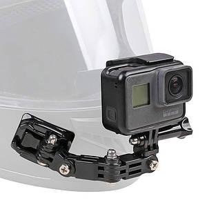 Боковое крепление на шлем Side Mount для экшн камеры GoPro SJCAM Xiaomi Yi, Sony
