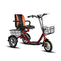 Трехколесный электрический велосипед для инвалидов Mini