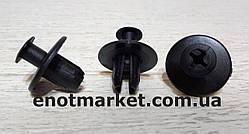 Нажимное крепление бампера много моделей Volkswagen. ОЕМ: A0009908192, 0009908192