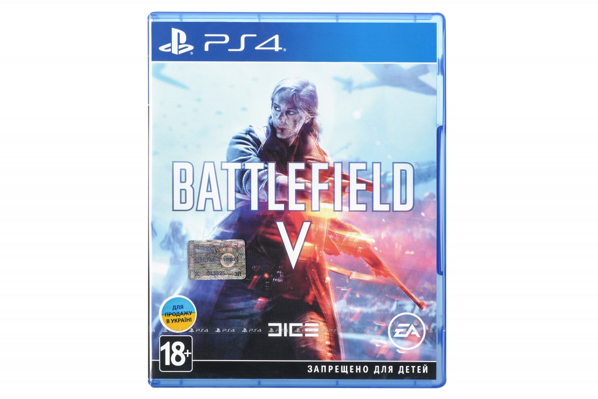 Диск PlayStation 4 BATTLEFIELD V [Blu-Ray диск]