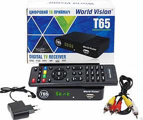 Цифровой эфирный ТВ приёмник World Vision T-65