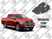 Защита коробки передач и дифференциала на MITSUBISHI L200 МКПП 2006--