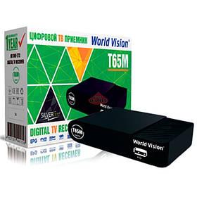 Цифровой эфирный ТВ приёмник World Vision T-65M