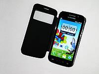 """Телефон Samsung S4 i9500 Черный - 4,7""""+2Sim +WiFi +TV +ЧЕХОЛ"""