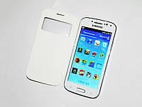 "Телефон Samsung S4 i9500 Белый - 4,7""+2Sim +WiFi +TV +ЧЕХОЛ"