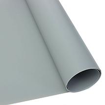 Серый матовый ПВХ (виниловый) фон Puluz для предметной фото и видео съемки 200 х 120 см., фото 2