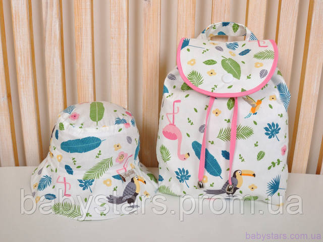 Детский рюкзачок + панамка