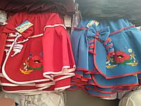 Пышная юбка на девочку с красивой вышивкой, фото 1