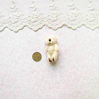 Мягкая Игрушка Медвежонок 4.5 см МОЛОЧНЫЙ