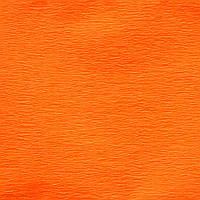 Бумага гофрированная флуоресцентная оранжевая 20% (50см*200см)