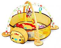 Детский развивающий коврик Ecotoys Львенок 88969