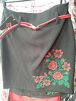 Этно юбка на девочку черная, фото 1