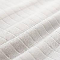 "Ткань муслин ""Белый однотон"", ширина 160 см"