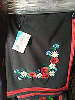 Этно юбка на девочку черная на запах , фото 1