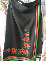 Этно юбка на девочку удлиненная на запах  , фото 1