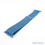 Ремешок Apple Watch 42/44mm Nylon Sport Loop blue, фото 3