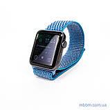 Ремешок Apple Watch 42/44mm Nylon Sport Loop blue, фото 2