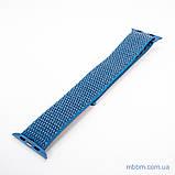 Ремешок Apple Watch 42/44mm Nylon Sport Loop blue, фото 5