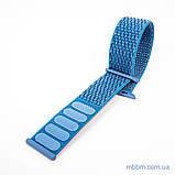 Ремешок Apple Watch 42/44mm Nylon Sport Loop blue, фото 6