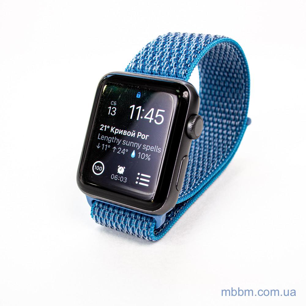 Ремешок Apple Watch 42/44mm Nylon Sport Loop blue