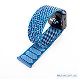 Ремешок Apple Watch 42/44mm Nylon Sport Loop blue, фото 7